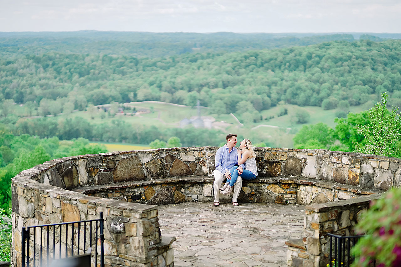 Kendra Pete West Baden Springs Engagement Session 155