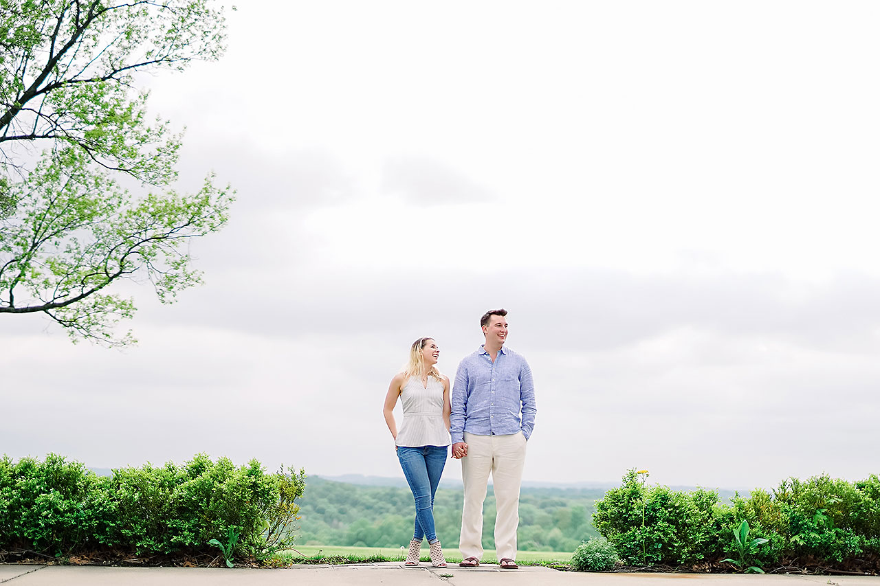 Kendra Pete West Baden Springs Engagement Session 149