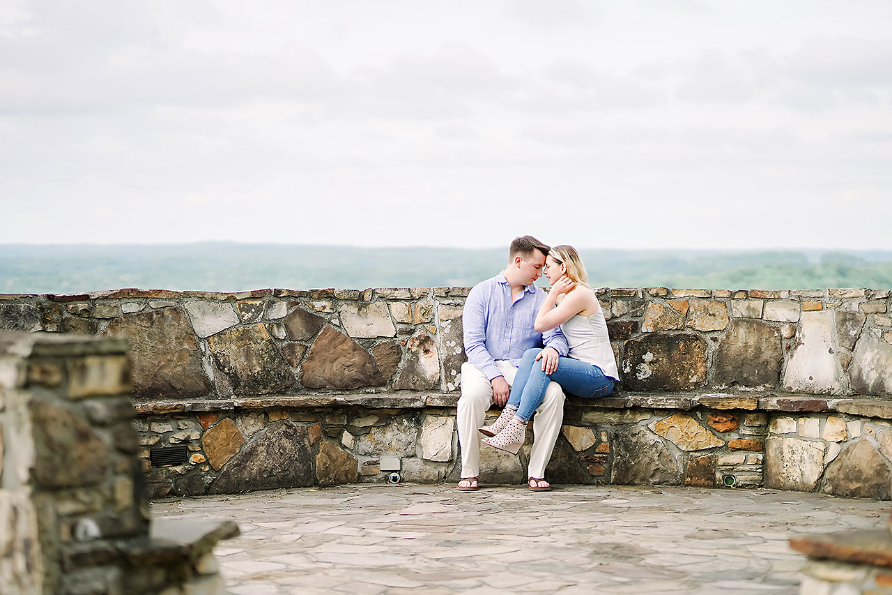 Kendra Pete West Baden Springs Engagement Session 148