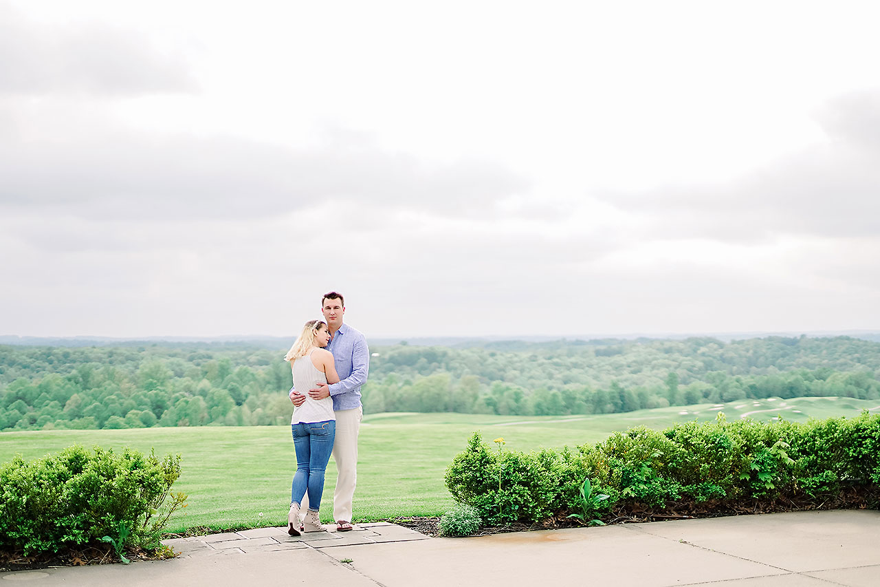 Kendra Pete West Baden Springs Engagement Session 146