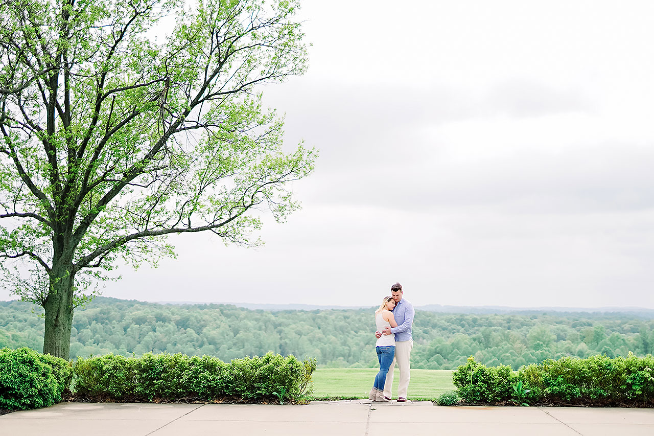 Kendra Pete West Baden Springs Engagement Session 143