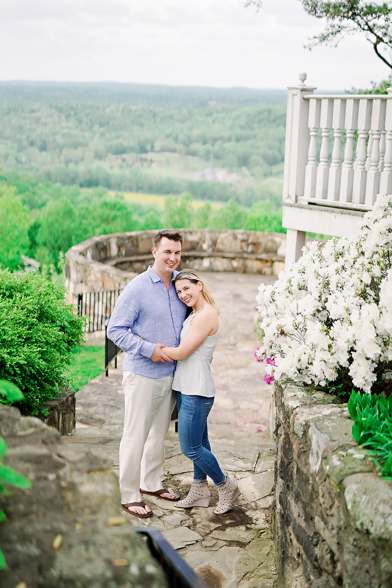 Kendra Pete West Baden Springs Engagement Session 140