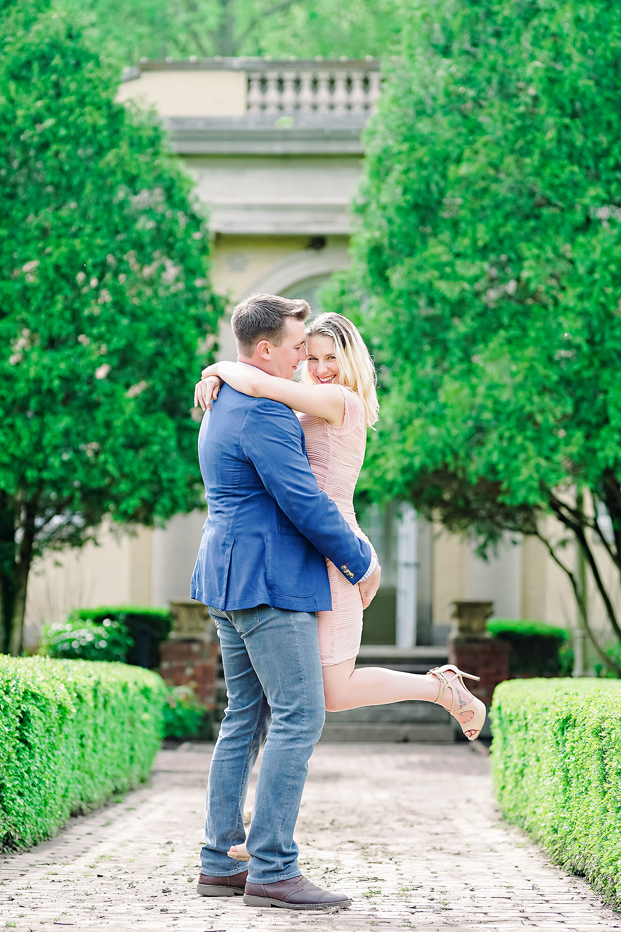 Kendra Pete West Baden Springs Engagement Session 109