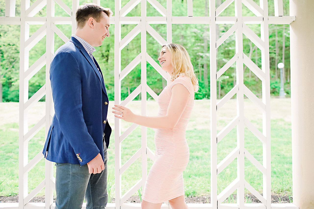 Kendra Pete West Baden Springs Engagement Session 100