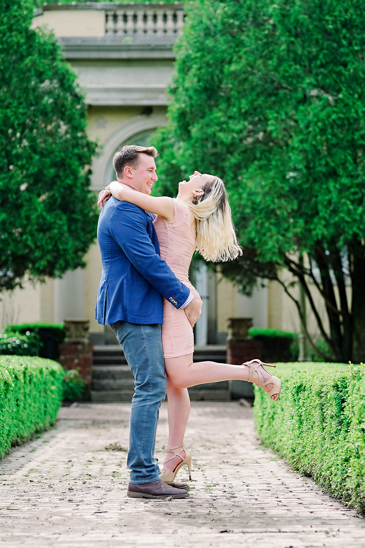 Kendra Pete West Baden Springs Engagement Session 094
