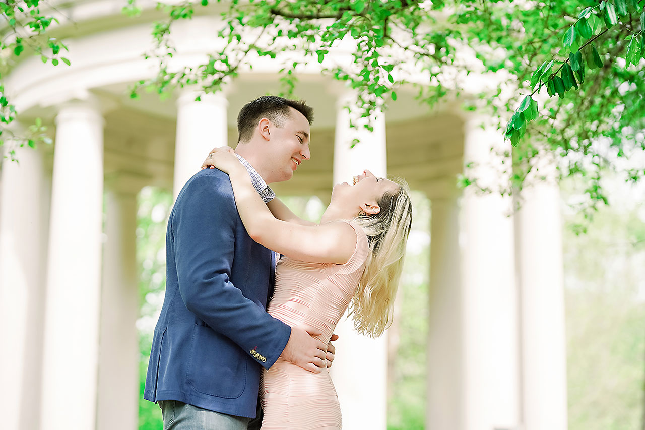 Kendra Pete West Baden Springs Engagement Session 072