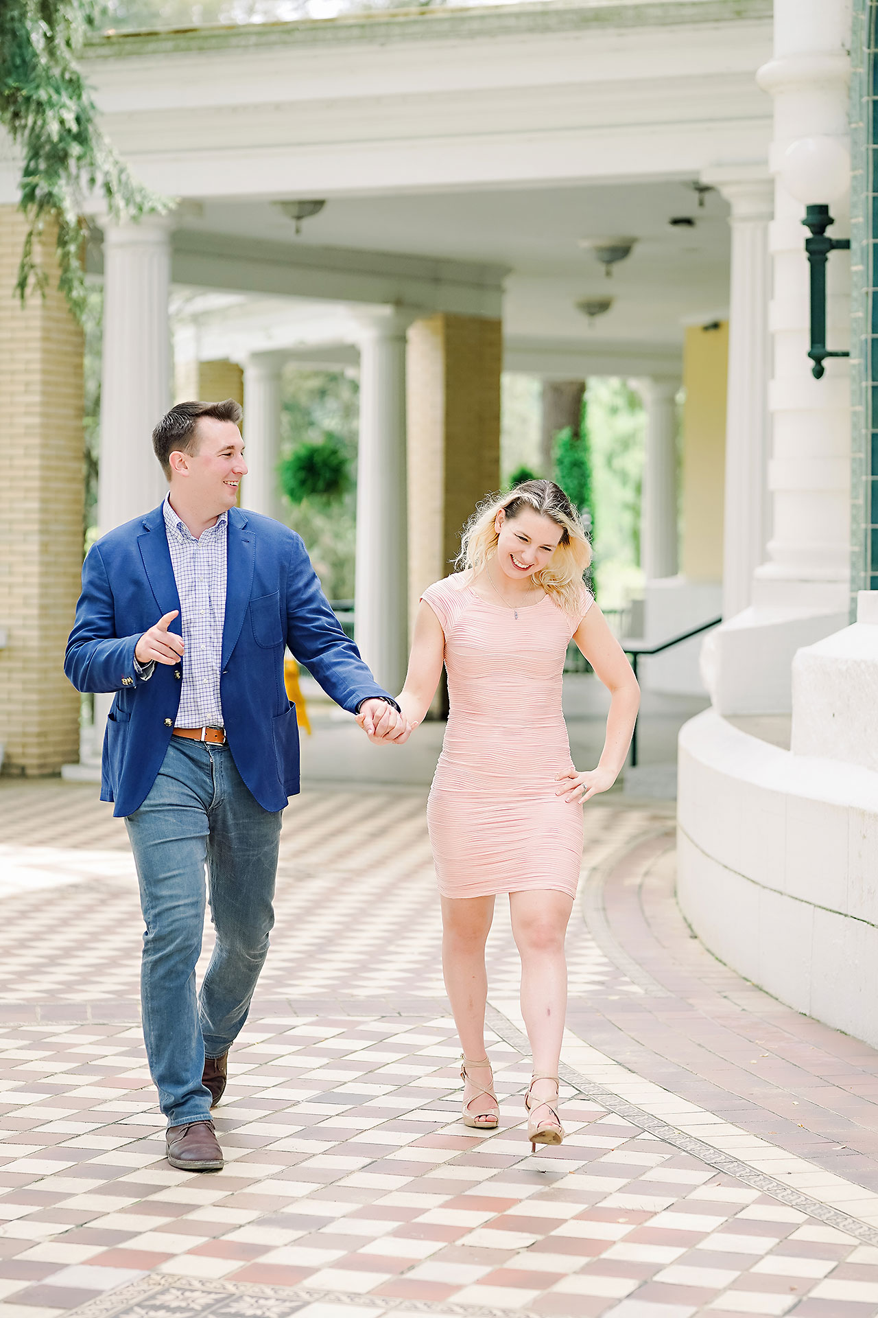 Kendra Pete West Baden Springs Engagement Session 063