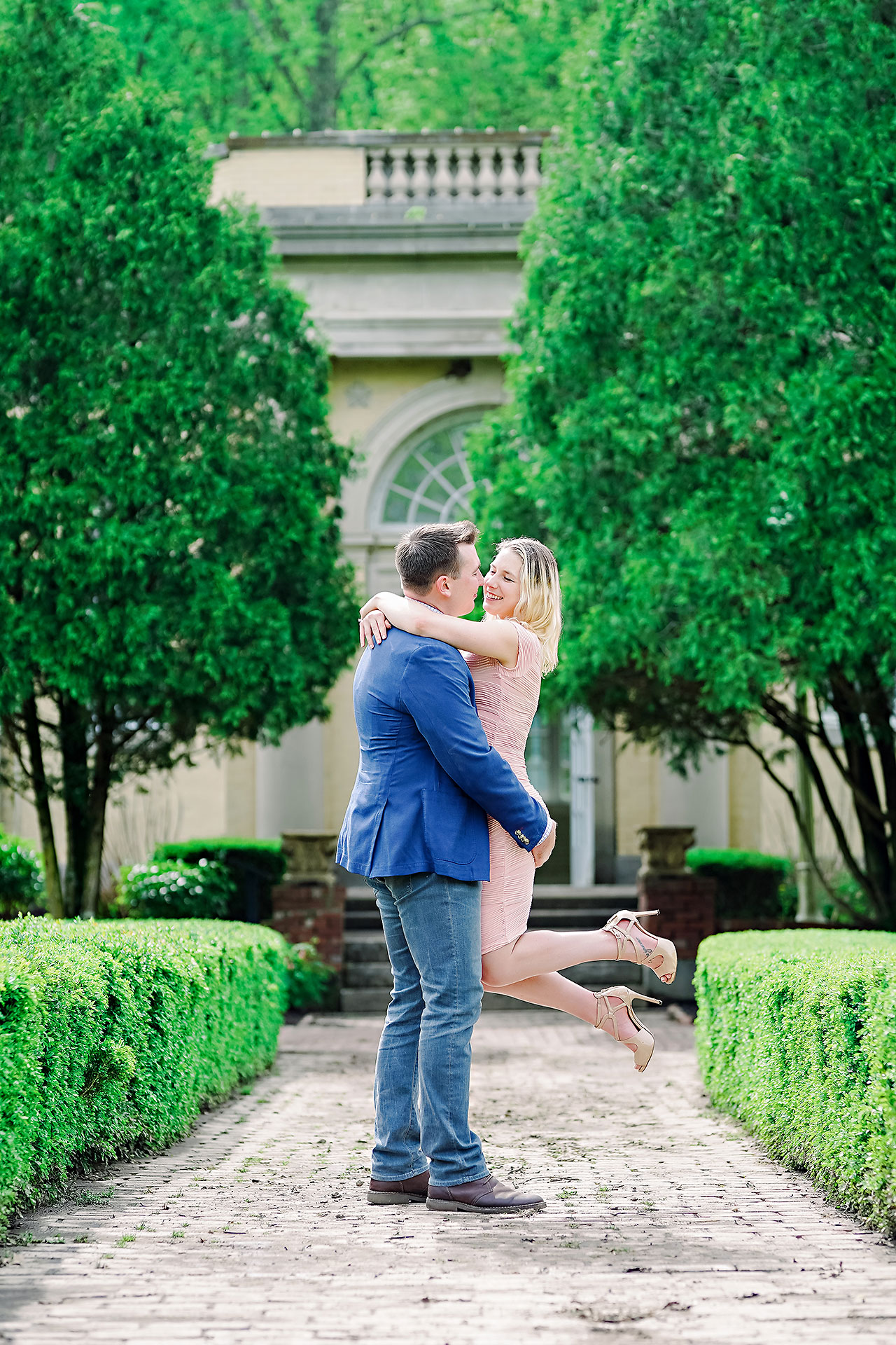 Kendra Pete West Baden Springs Engagement Session 061