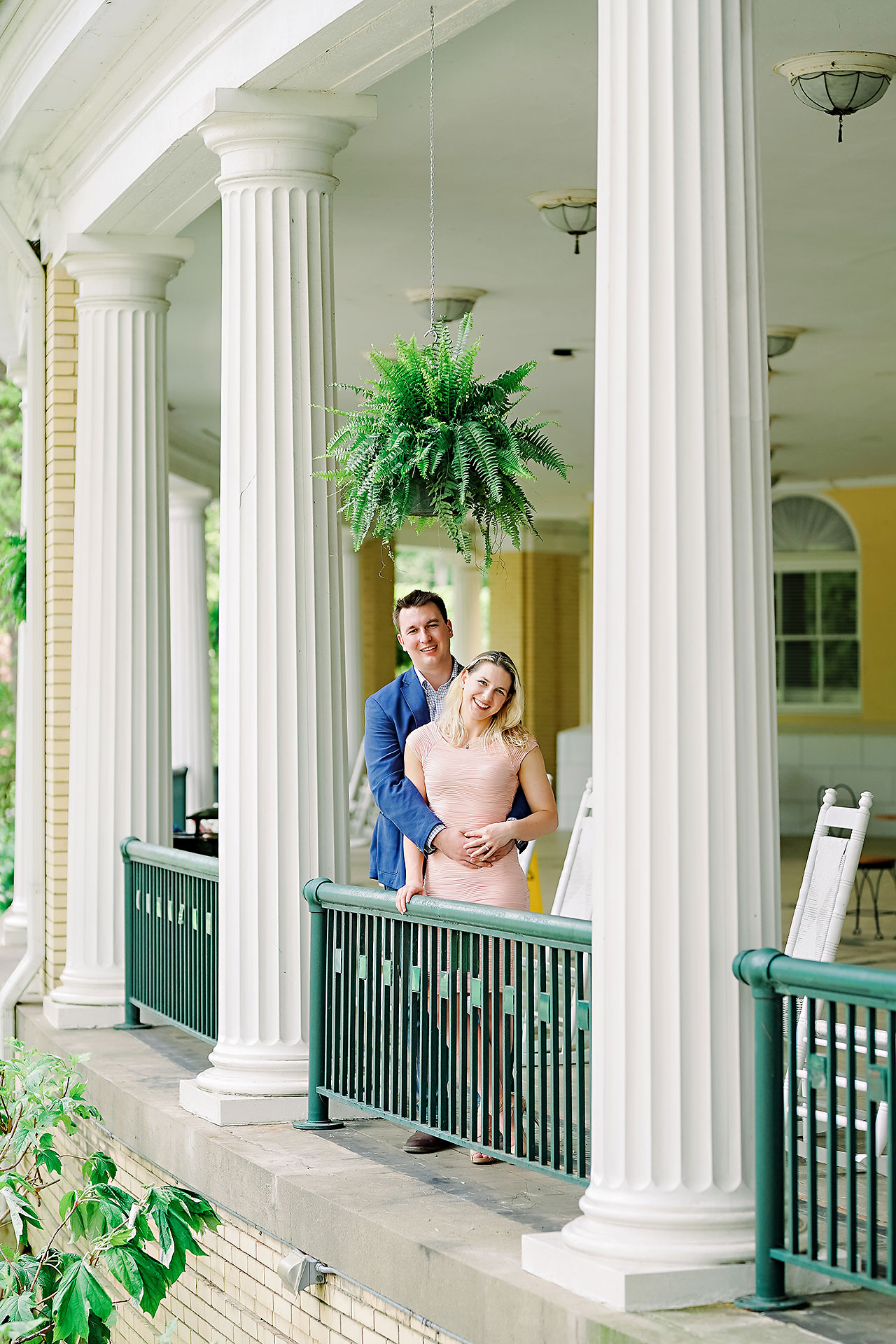 Kendra Pete West Baden Springs Engagement Session 058