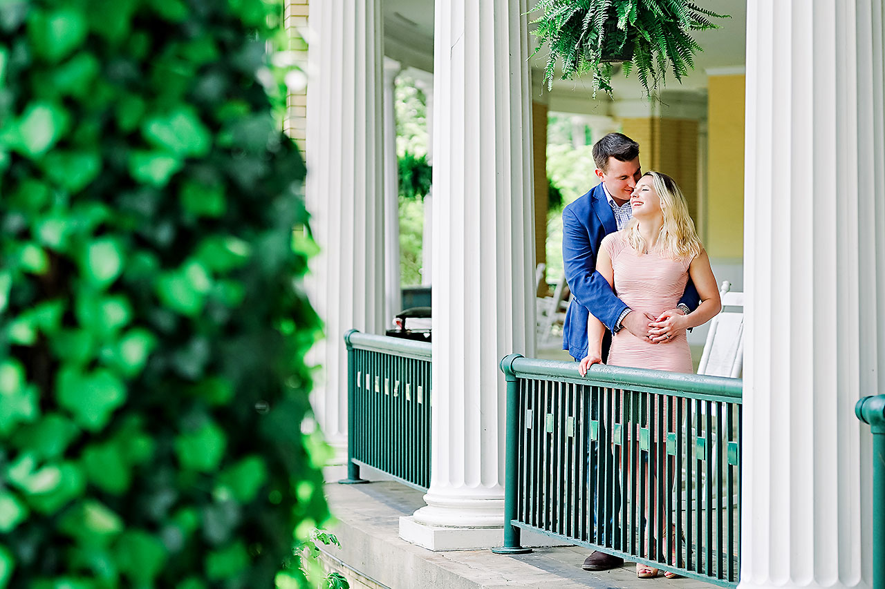 KENDRA + PETE | WEST BADEN SPRINGS ENGAGEMENT SESSION