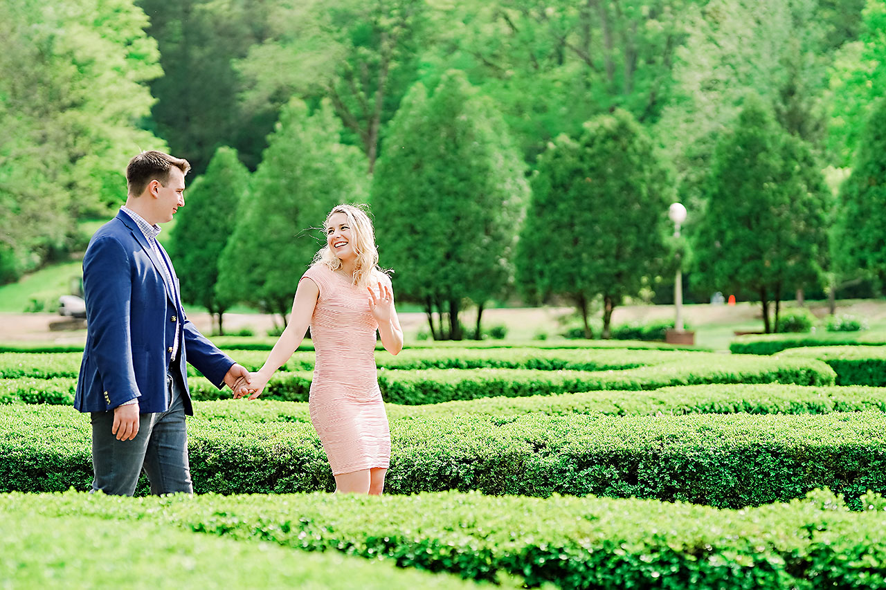 Kendra Pete West Baden Springs Engagement Session 048