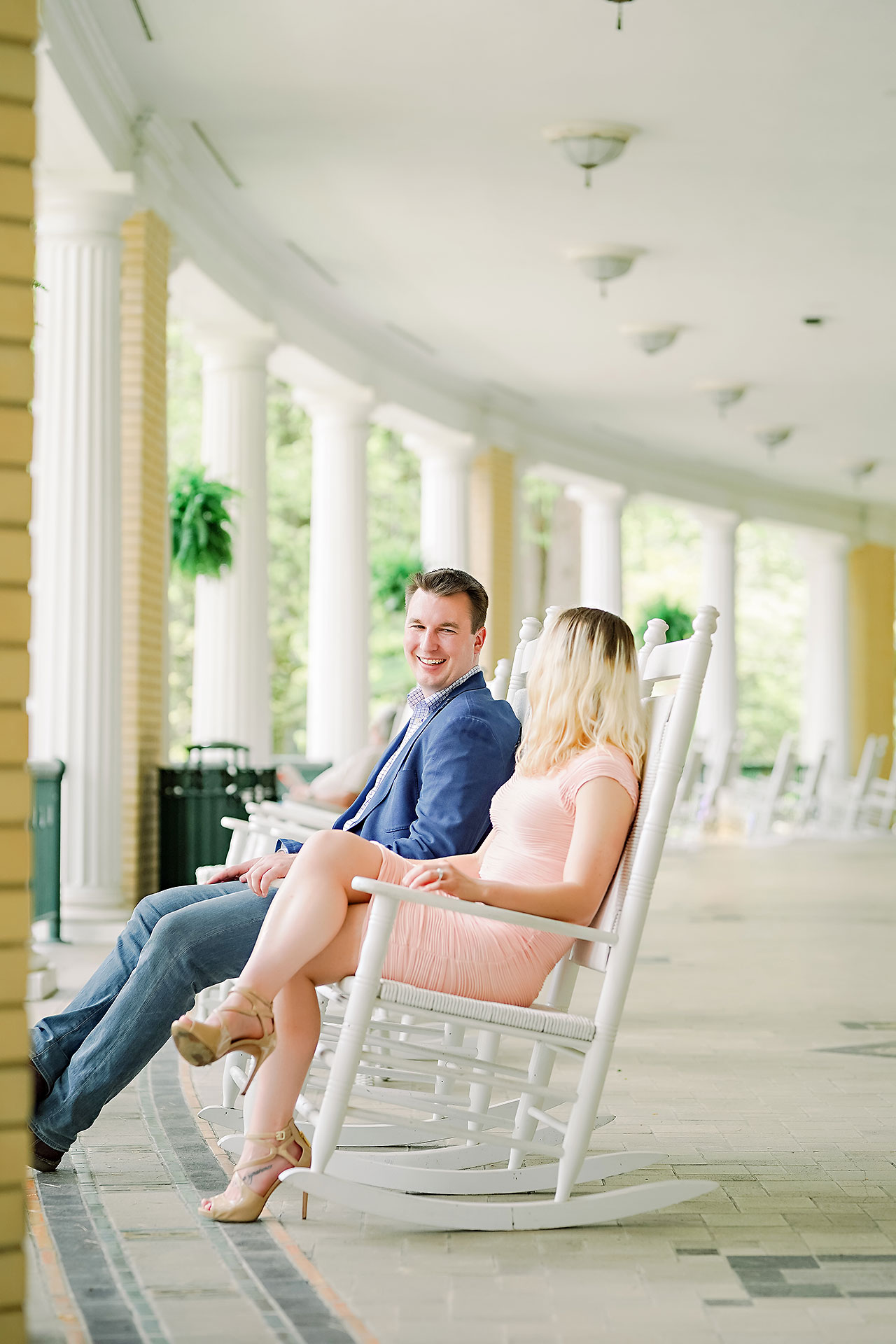 Kendra Pete West Baden Springs Engagement Session 037