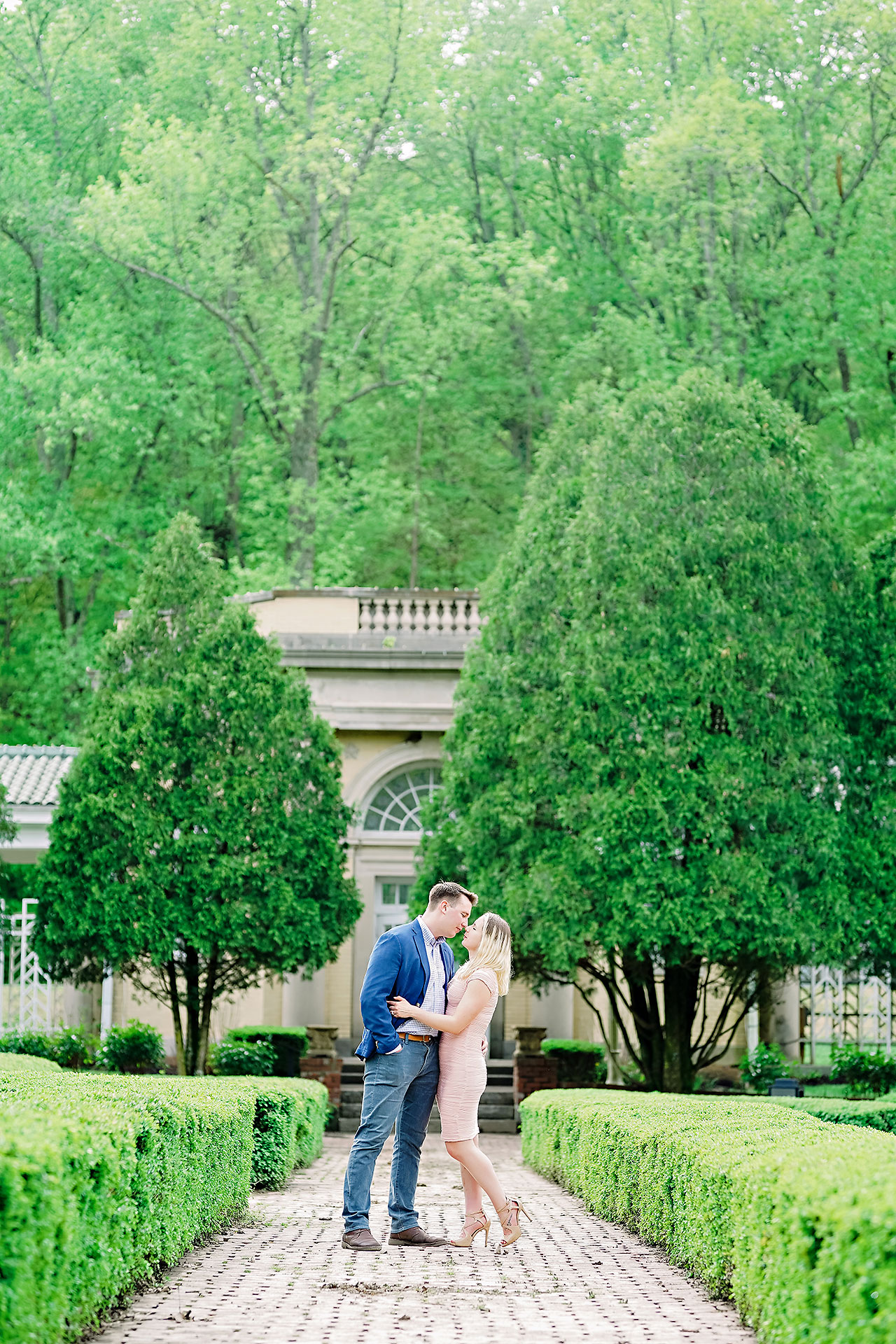 Kendra Pete West Baden Springs Engagement Session 030