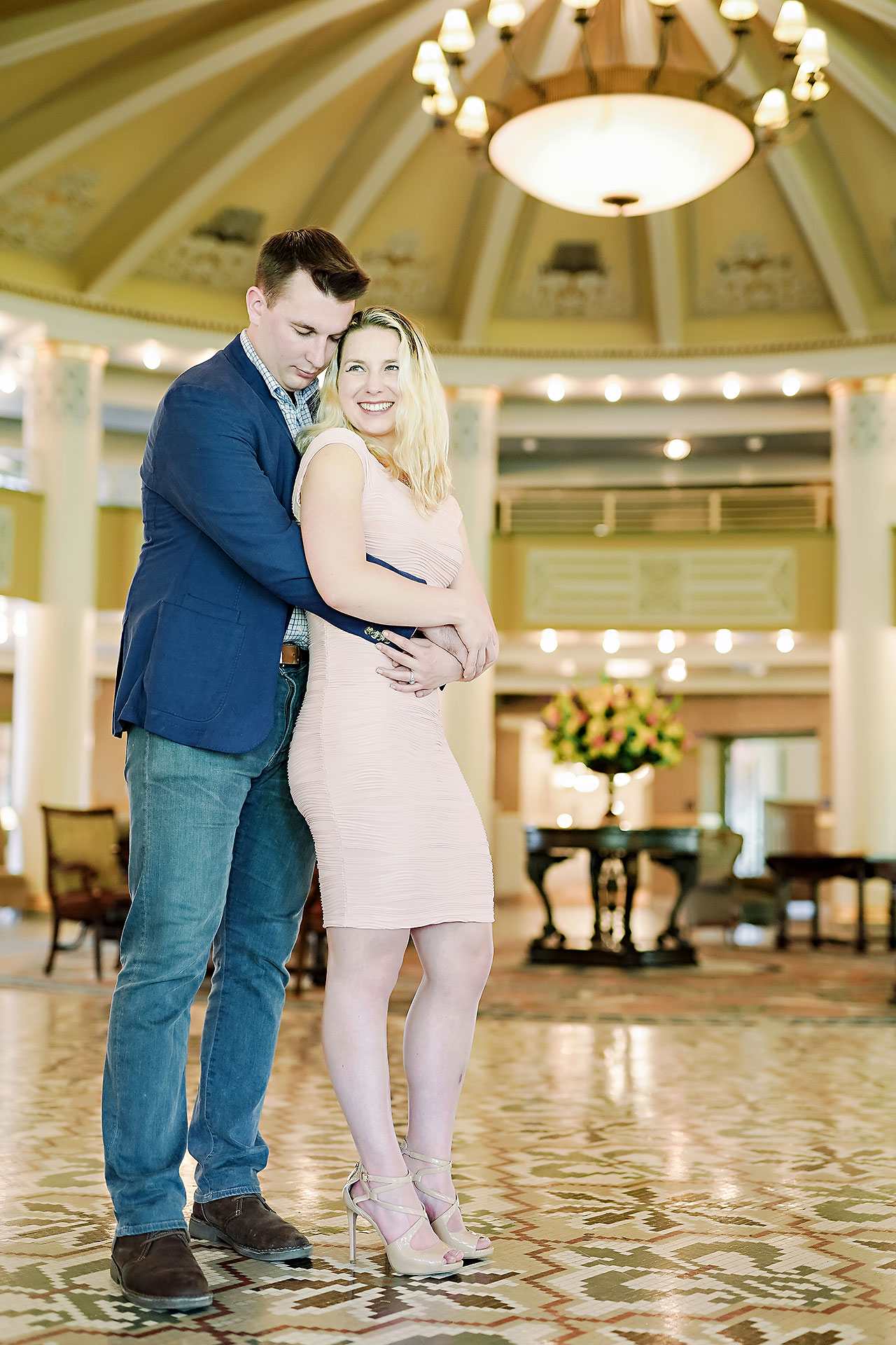 Kendra Pete West Baden Springs Engagement Session 023