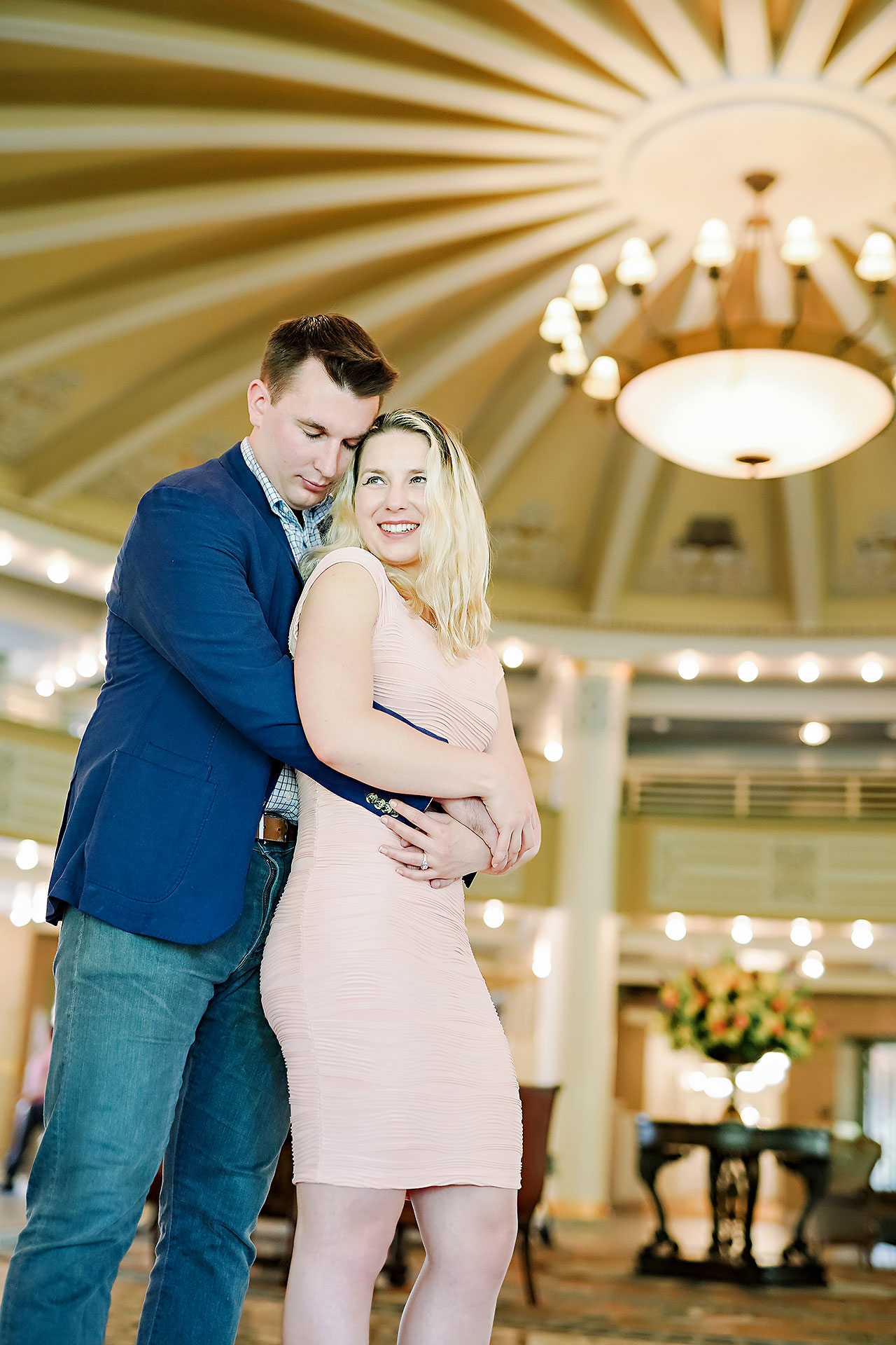 Kendra Pete West Baden Springs Engagement Session 019