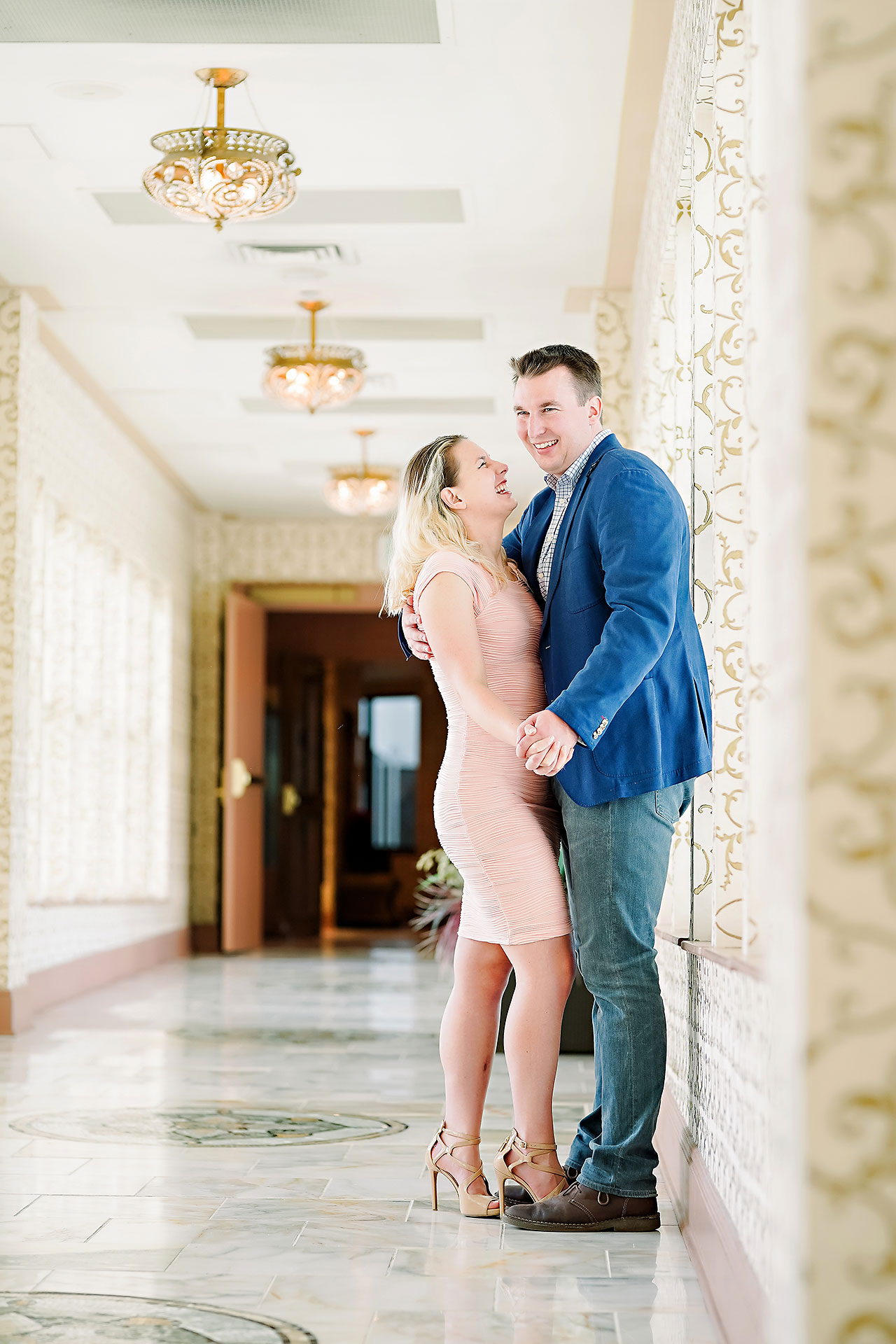 Kendra Pete West Baden Springs Engagement Session 020