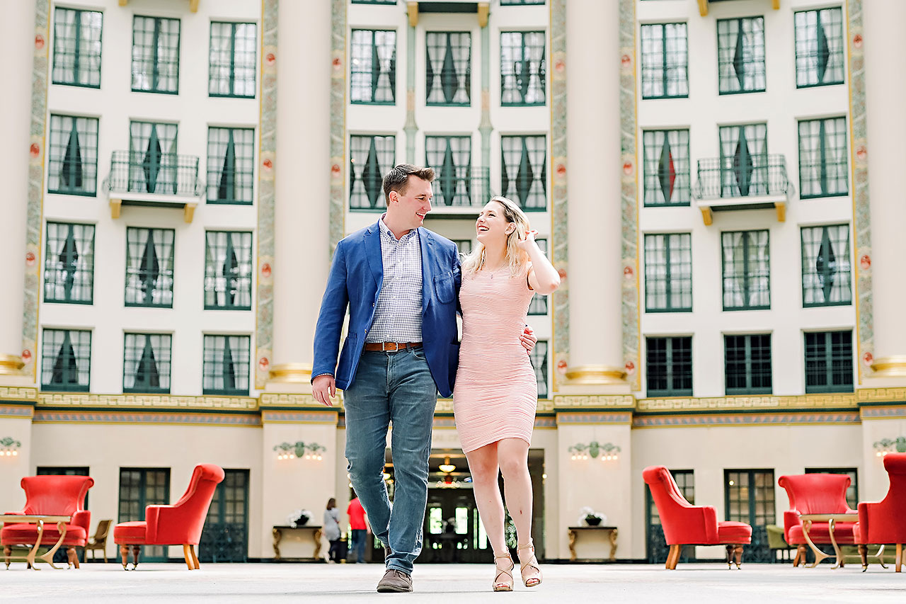 Kendra Pete West Baden Springs Engagement Session 017