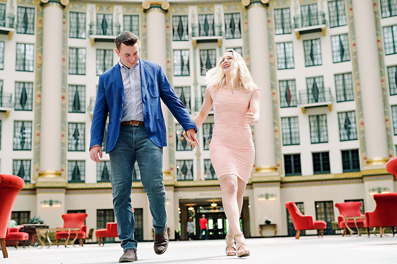 Kendra Pete West Baden Springs Engagement Session 013