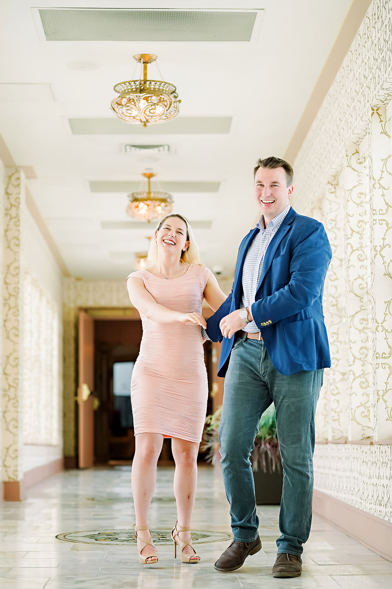 Kendra Pete West Baden Springs Engagement Session 008