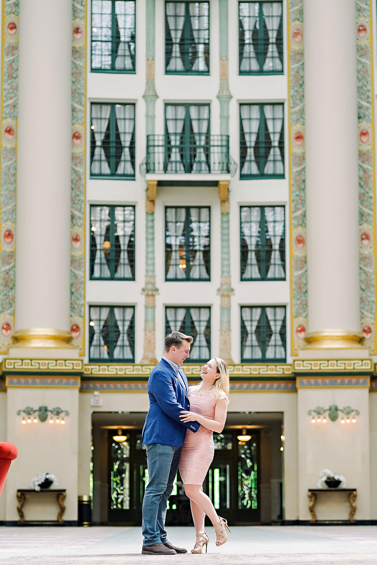 Kendra Pete West Baden Springs Engagement Session 001