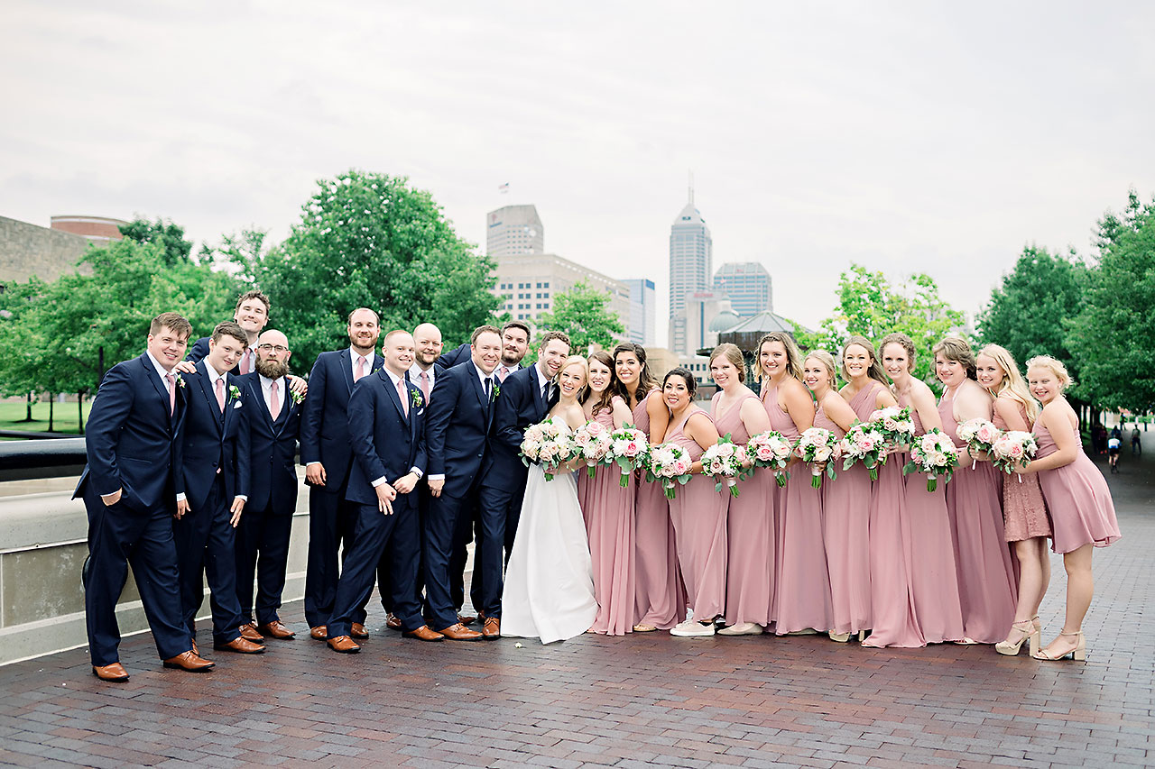 Kelsey Tyler Mavris Indianapolis Wedding 183