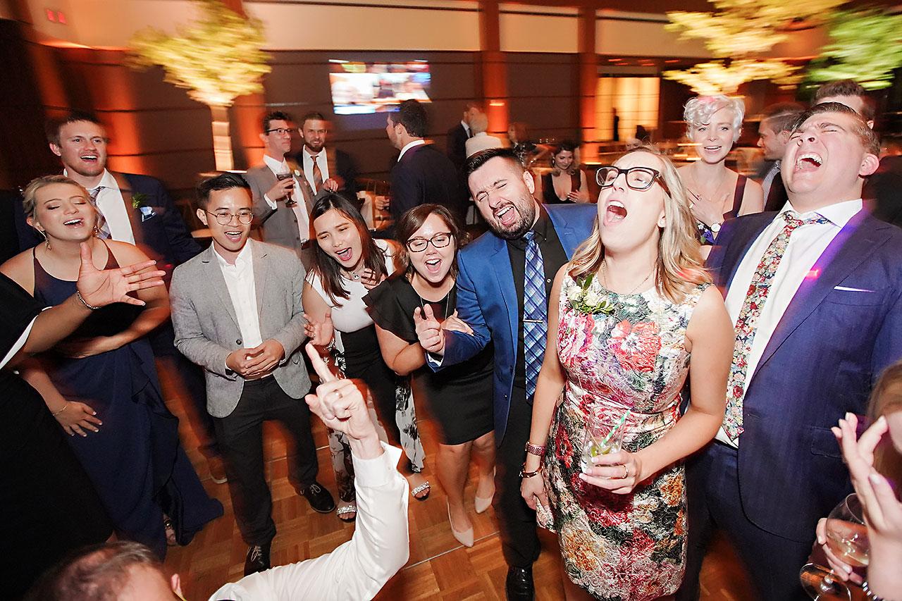 Lauren Andy Newfields Indianapolis Museum of Art Wedding 324