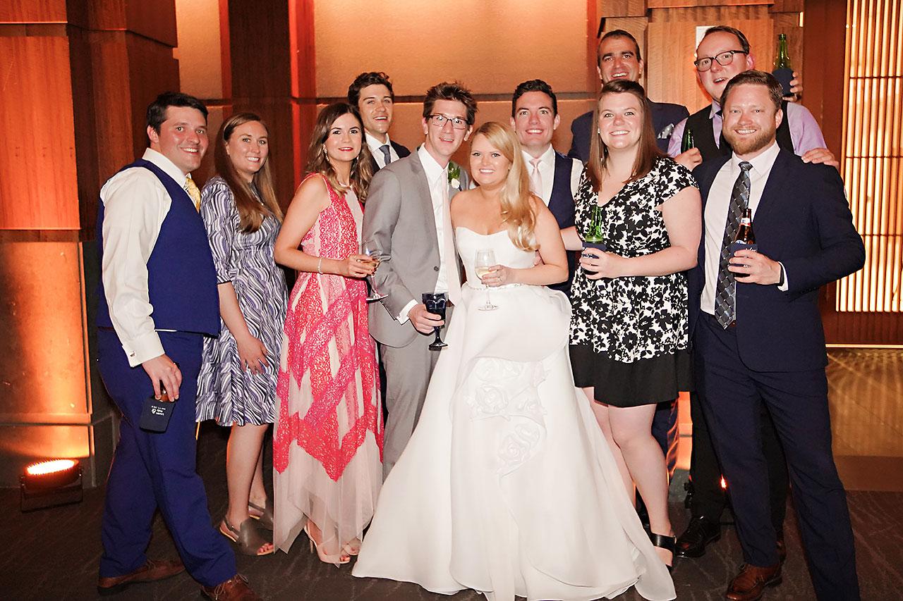 Lauren Andy Newfields Indianapolis Museum of Art Wedding 313