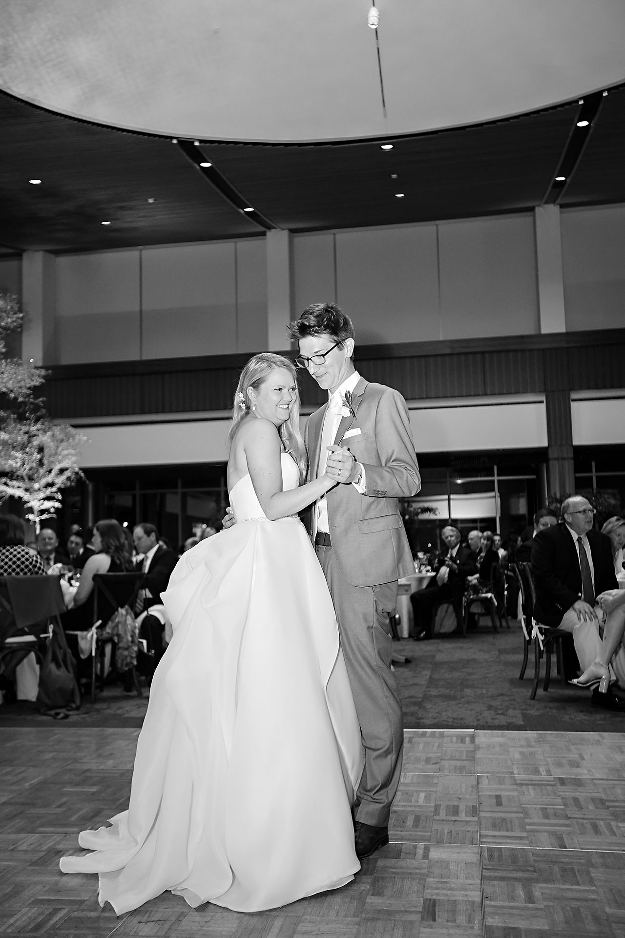 Lauren Andy Newfields Indianapolis Museum of Art Wedding 261