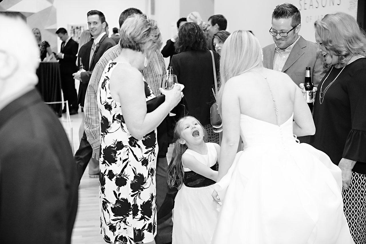 Lauren Andy Newfields Indianapolis Museum of Art Wedding 197