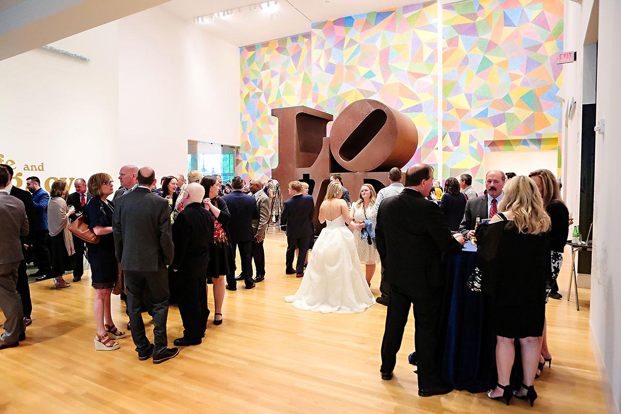 Lauren Andy Newfields Indianapolis Museum of Art Wedding 192