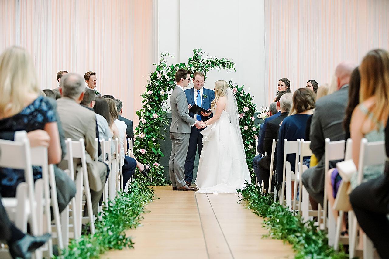 Lauren Andy Newfields Indianapolis Museum of Art Wedding 186