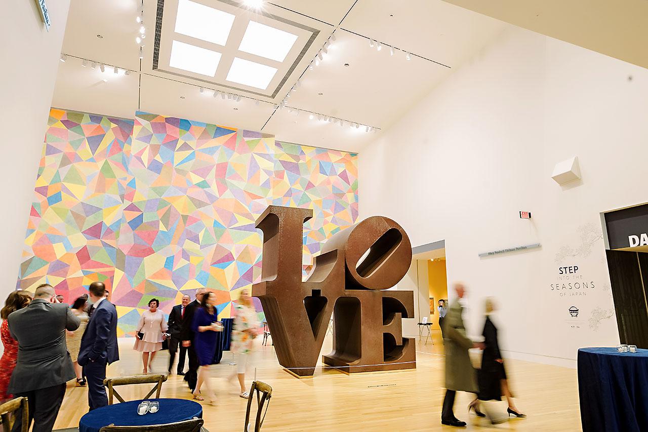 Lauren Andy Newfields Indianapolis Museum of Art Wedding 178