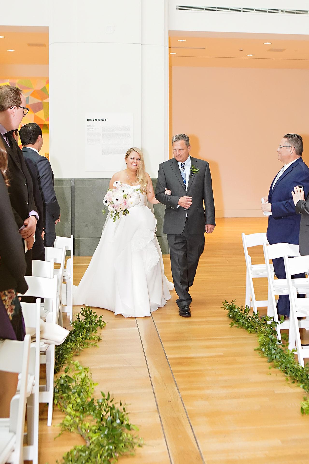 Lauren Andy Newfields Indianapolis Museum of Art Wedding 175