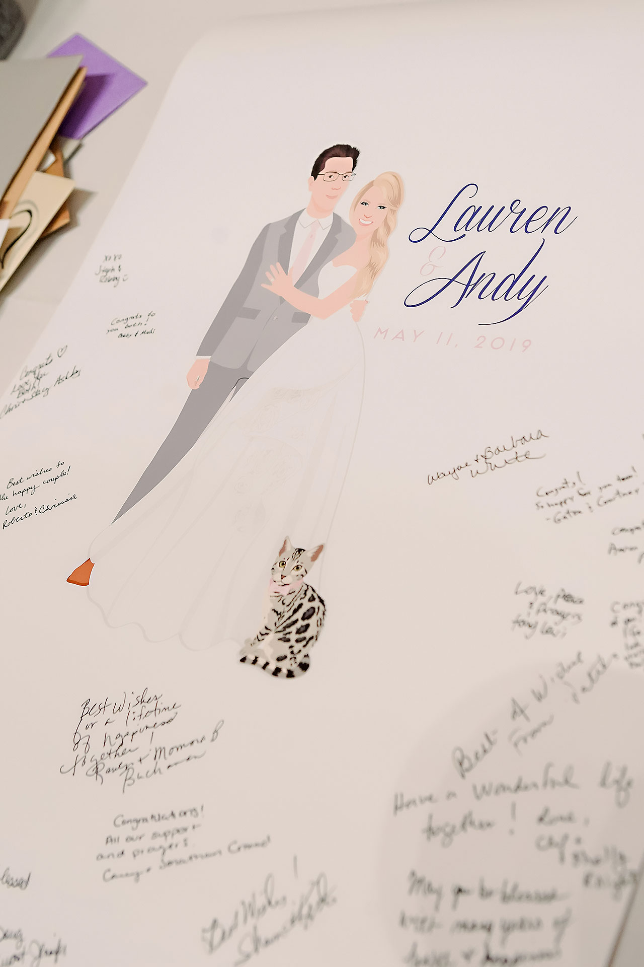 Lauren Andy Newfields Indianapolis Museum of Art Wedding 171