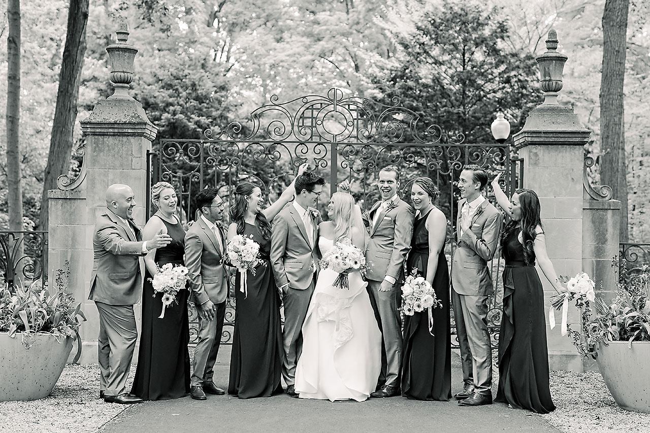 Lauren Andy Newfields Indianapolis Museum of Art Wedding 165