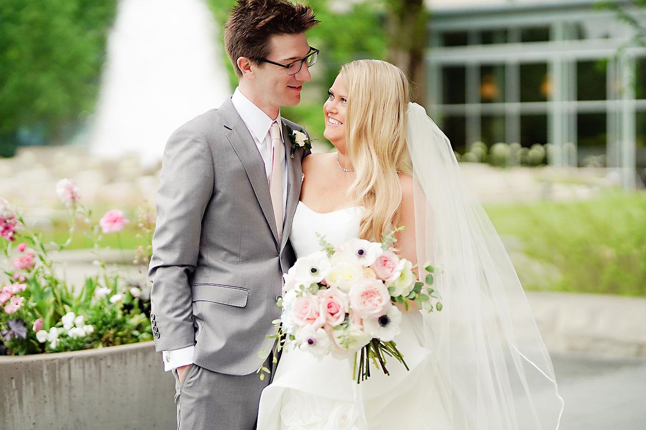 Lauren Andy Newfields Indianapolis Museum of Art Wedding 164