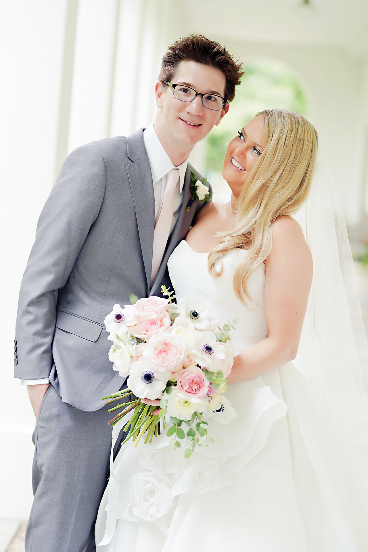 Lauren Andy Newfields Indianapolis Museum of Art Wedding 142