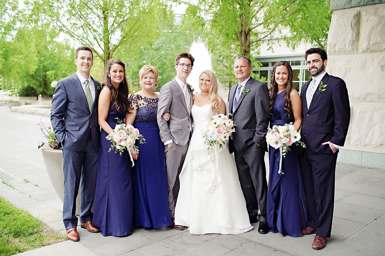 Lauren Andy Newfields Indianapolis Museum of Art Wedding 093