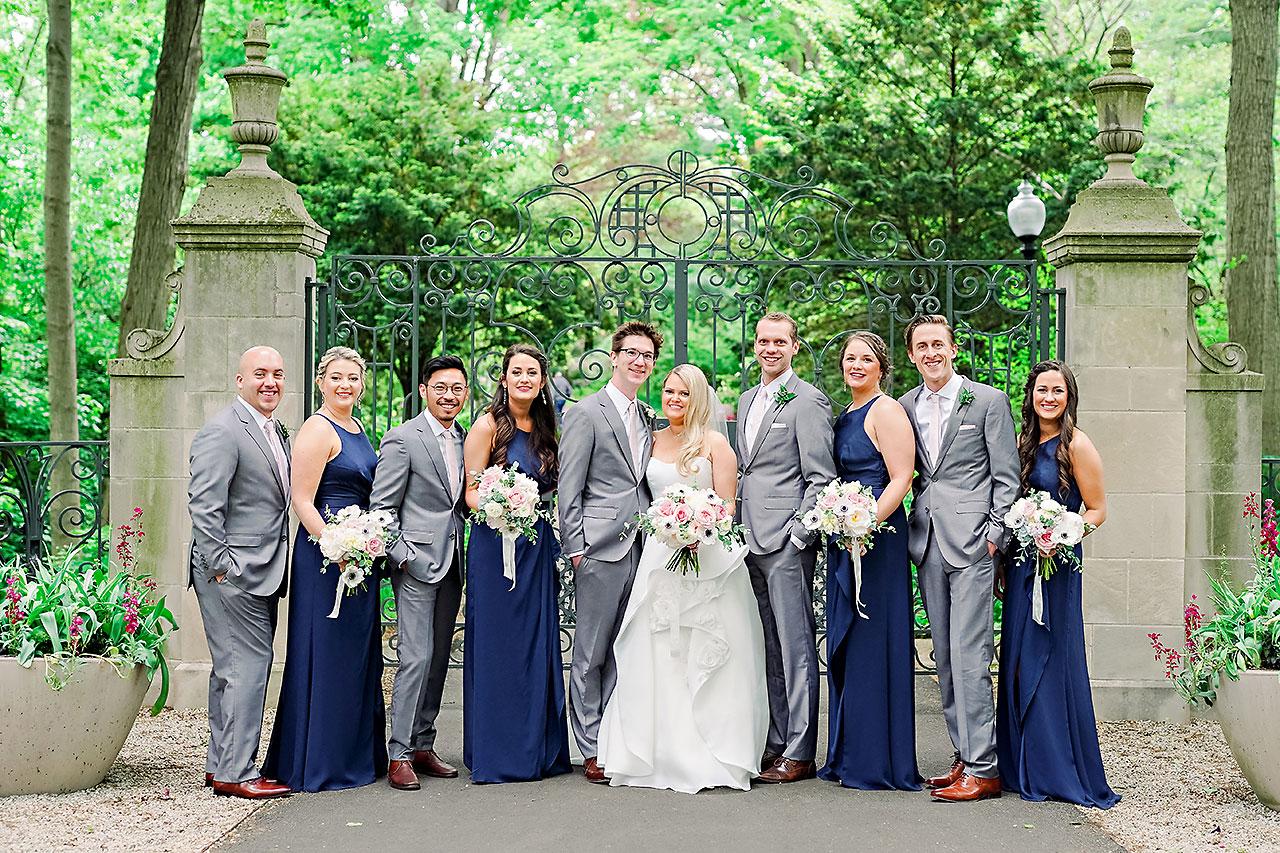 Lauren Andy Newfields Indianapolis Museum of Art Wedding 064