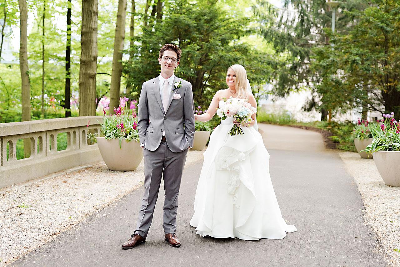 Lauren Andy Newfields Indianapolis Museum of Art Wedding 040