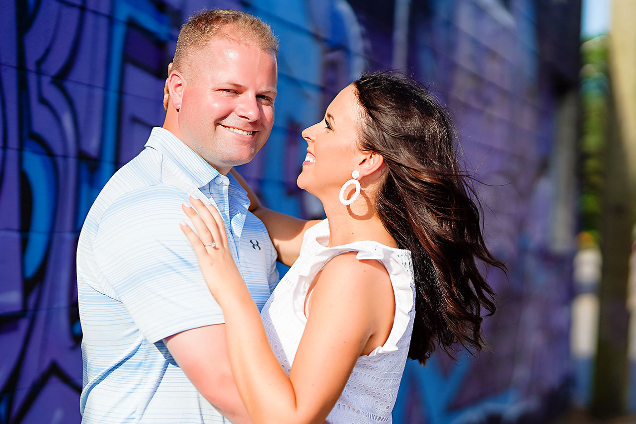 Michelle Casey Newfields Broad Ripple Indianapolis Engagement 095
