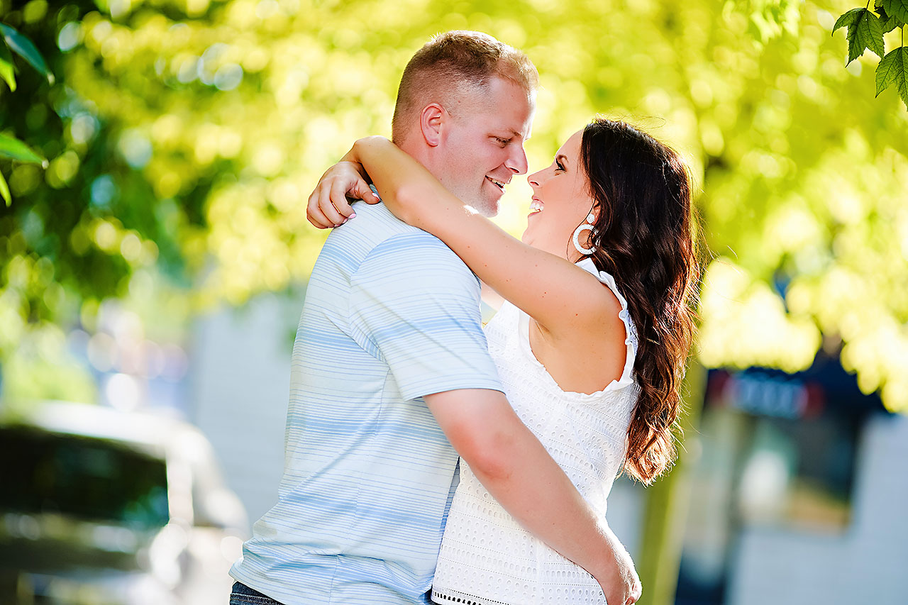 Michelle Casey Newfields Broad Ripple Indianapolis Engagement 091