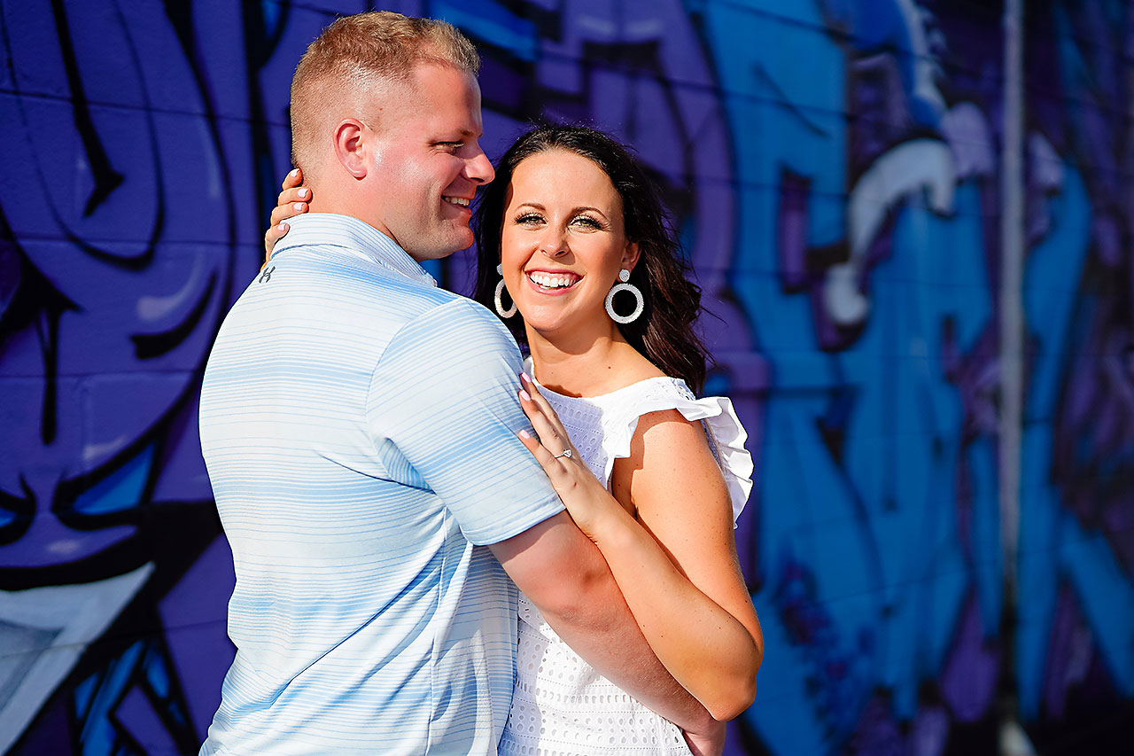 Michelle Casey Newfields Broad Ripple Indianapolis Engagement 092