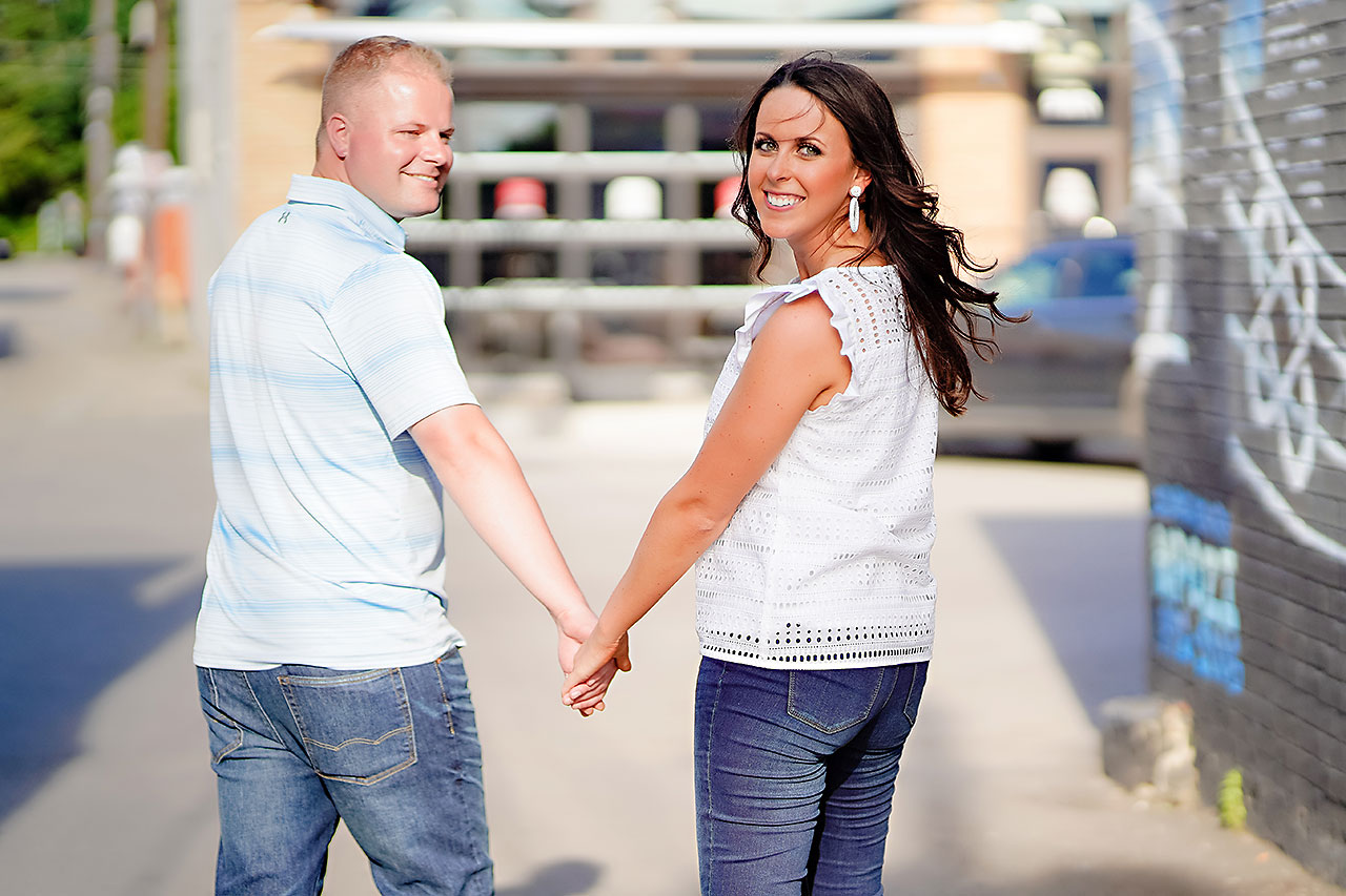 Michelle Casey Newfields Broad Ripple Indianapolis Engagement 090