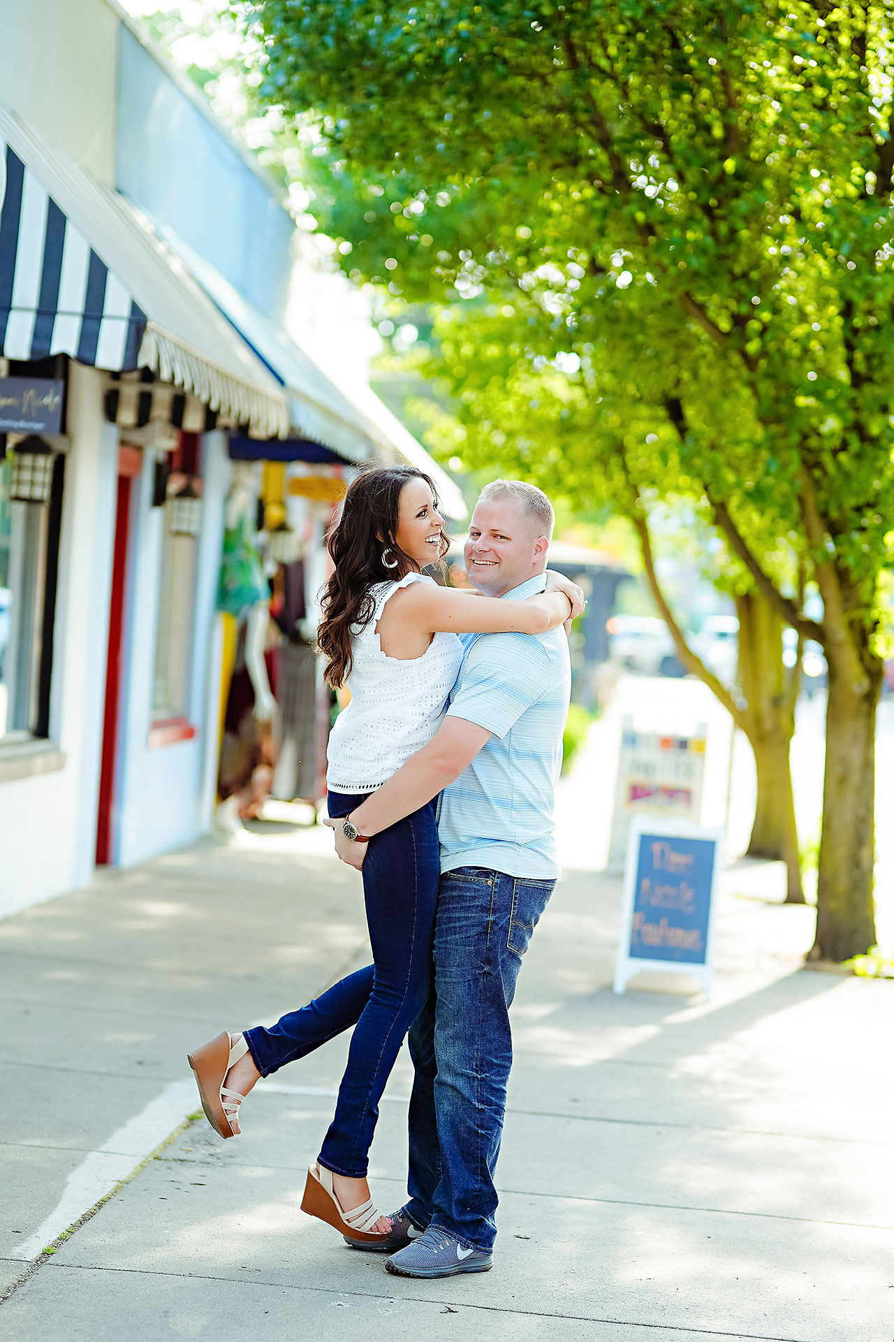 Michelle Casey Newfields Broad Ripple Indianapolis Engagement 087