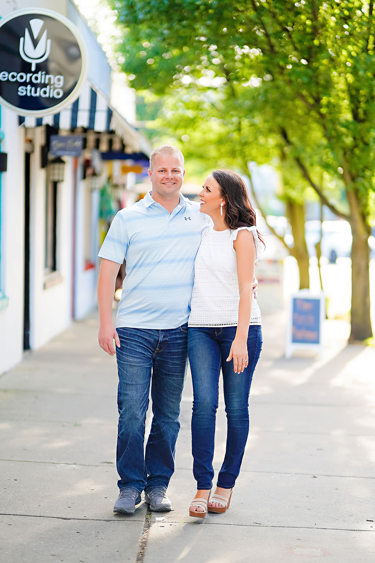 Michelle Casey Newfields Broad Ripple Indianapolis Engagement 082