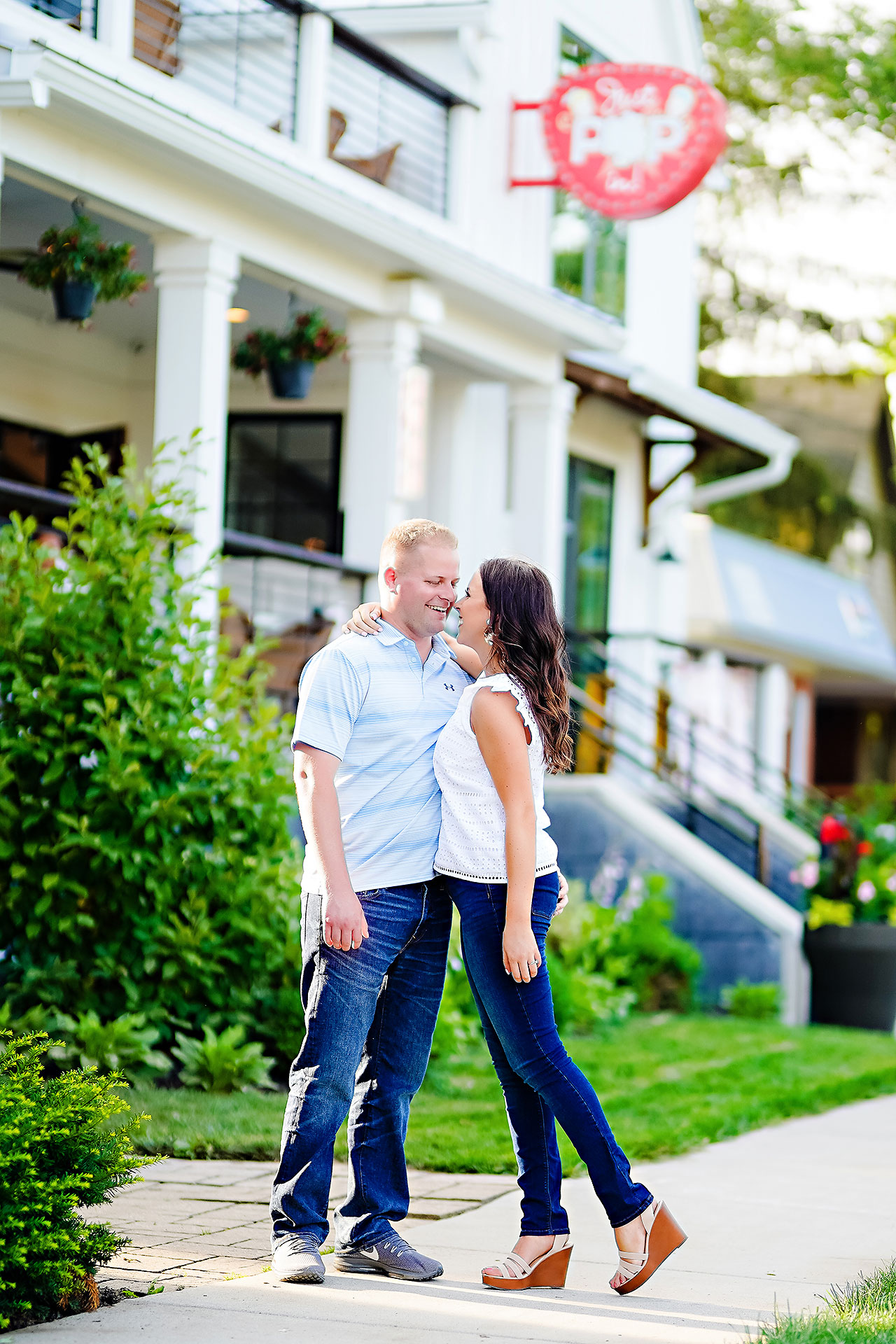 Michelle Casey Newfields Broad Ripple Indianapolis Engagement 077