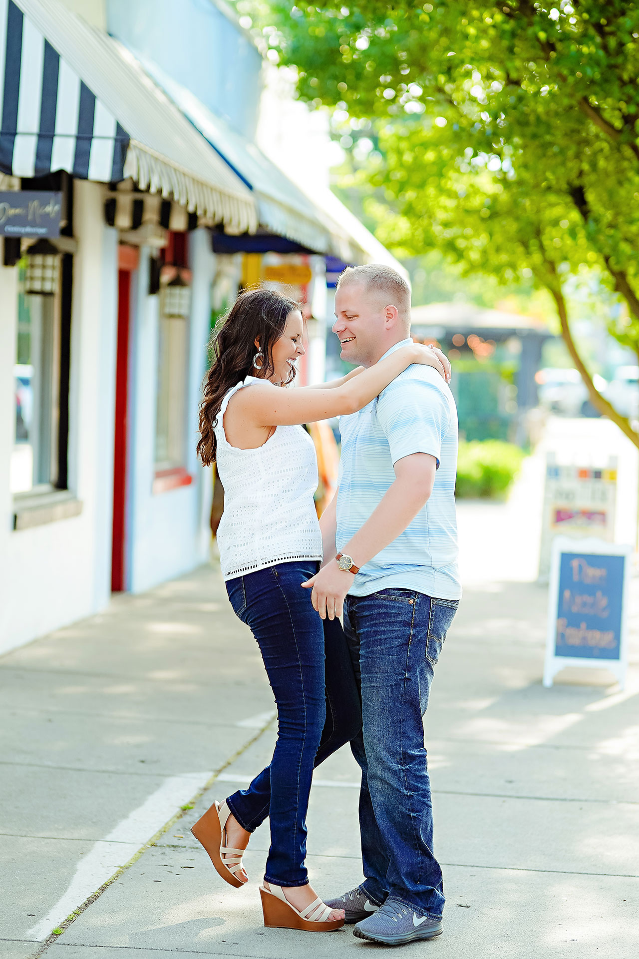 Michelle Casey Newfields Broad Ripple Indianapolis Engagement 072