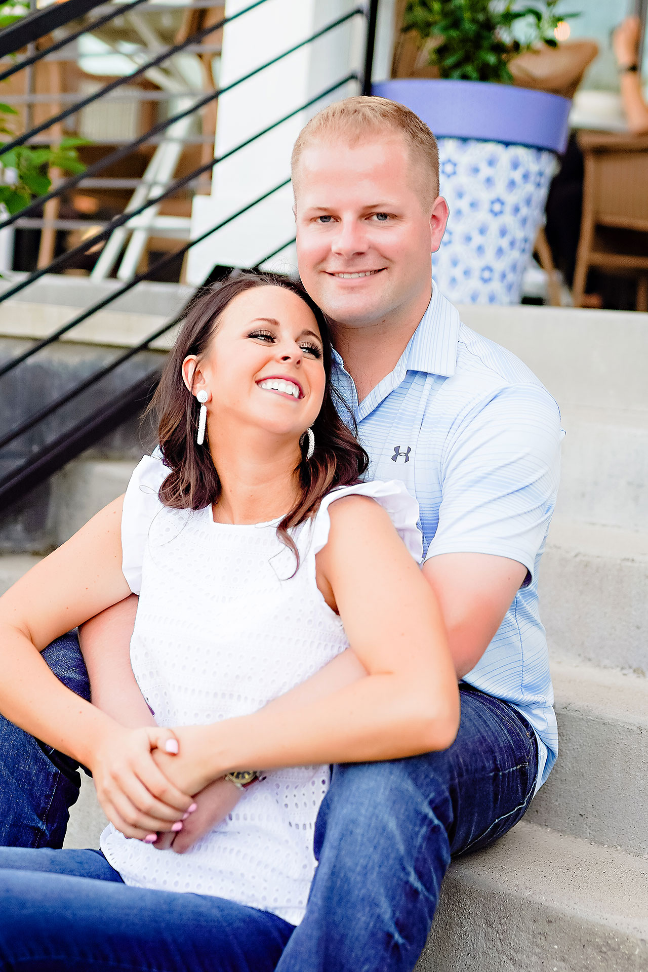 Michelle Casey Newfields Broad Ripple Indianapolis Engagement 073