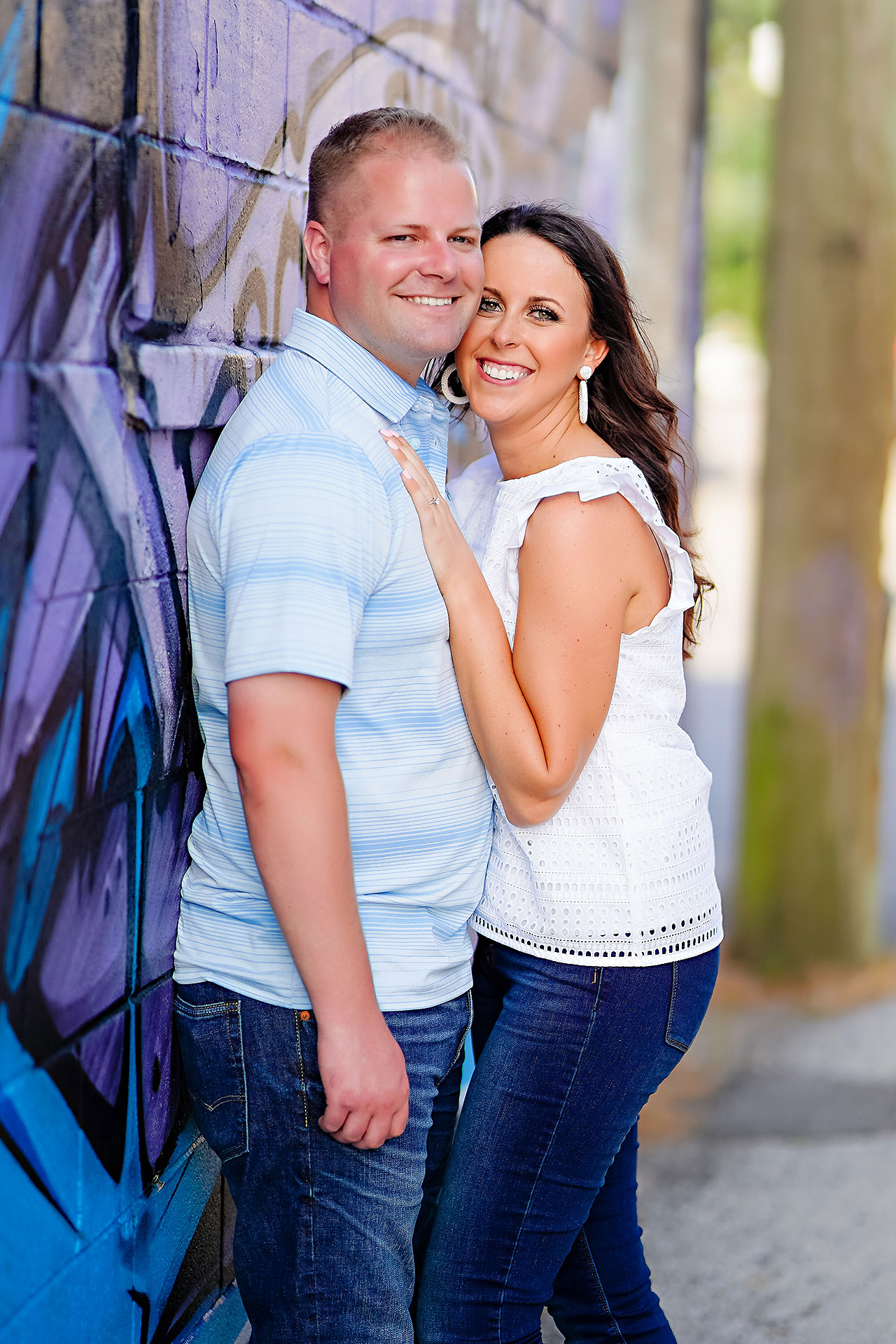 Michelle Casey Newfields Broad Ripple Indianapolis Engagement 070